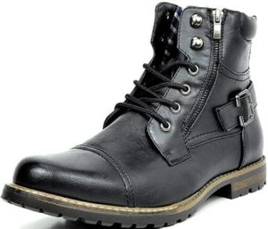 9. Bruno Marc Men's Military Boots