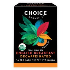 9. Choice Organics English Breakfast Tea