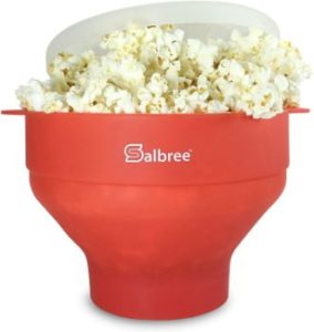 #9. Original Salbree Microwave Popcorn Popper