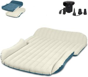 9. WEY&FLY SUV Air Mattress with 4 Air Bags
