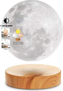 1. VGAzer Levitating Moon Lamp