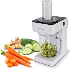 2. NutriChef 3-in-1 Electric Food Spiralizer