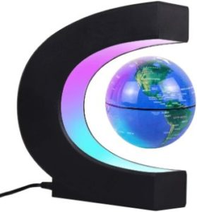 5. JOWHOL Magnetic Floating Globe (Blue)