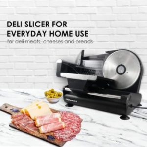 6. Elite Gourmet Ultimate Precision Electric Deli Food Meat Slicer