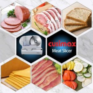 7. CUSIMAX Meat Slicer Electric Food Slicer
