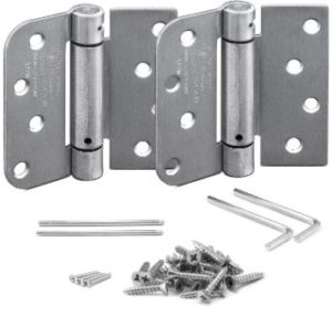 7. KS Hardware Self Closing Spring Hinge