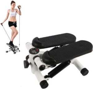 8. BIG.TREE Exercise Equipment with Adjustable Resistance Bands
