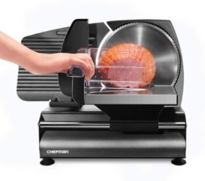 8. Chefman Die-Cast Electric Deli & Food Slicer