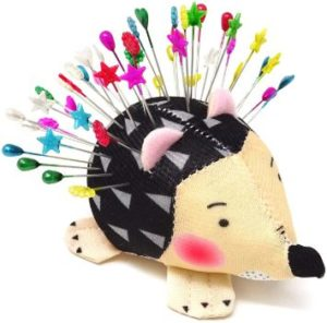 2. Honbay Pin Cushion, Hedgehog Shaped
