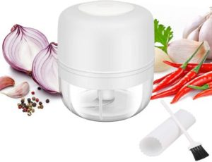 3. Electric Mini Garlic Chopper