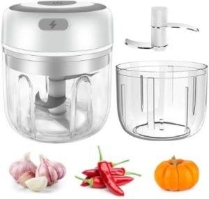 8. Cordless 2-Cup Mini Garlic Chopper